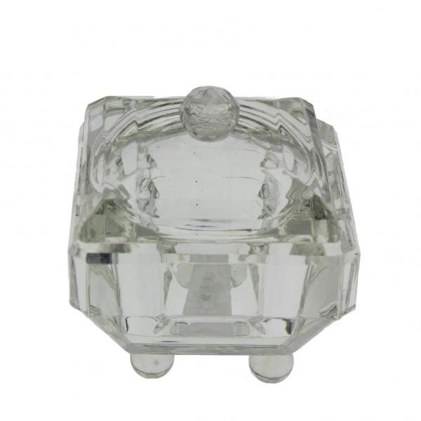 1 Adet 7x7cm Kristal Lokumluk