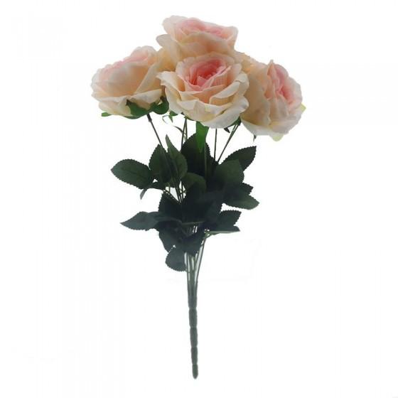 1 Demet Yapay Gül Çiçek 7li Çiçek
