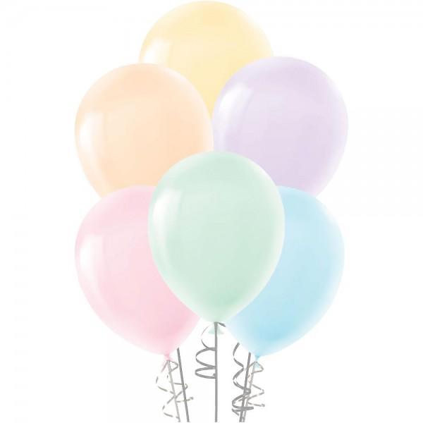 """10 Adet 30cm Pastel Renkler Balon 12"""""""