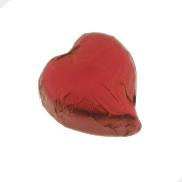 10 Adet 3cm Kalp Çikolata
