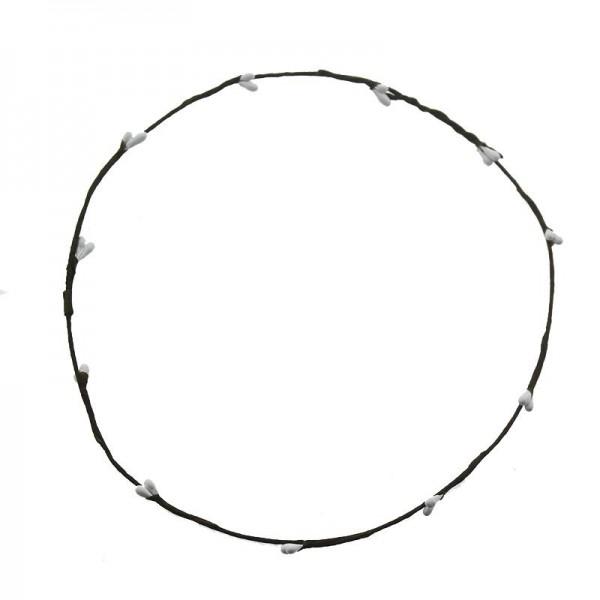 10 Adet Kıvrılmış Pıtırcık Çiçekli Saç Tacı Tel