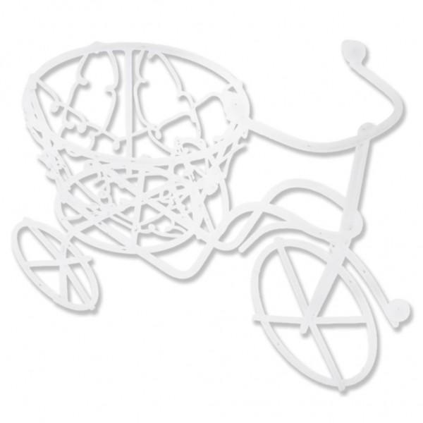 10 Adet Sepetli Metal Bisiklet