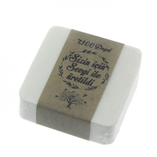 12 Adet 5,5x5,5cm Doğal Zeytinyağlı Sabun