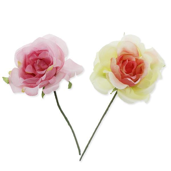 12 Adet Kumaş Çiçek