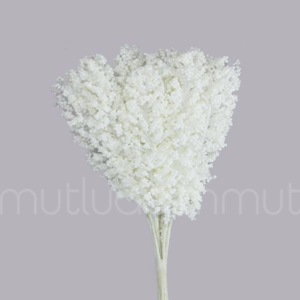12 Demet (144 Adet) Dökülen İnce Uzun Cipso/Pıtırcık Çiçek