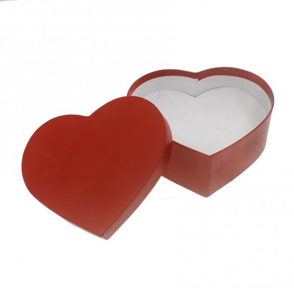 12x13cm Kalp Kutu Karton Hediyelik Küçük