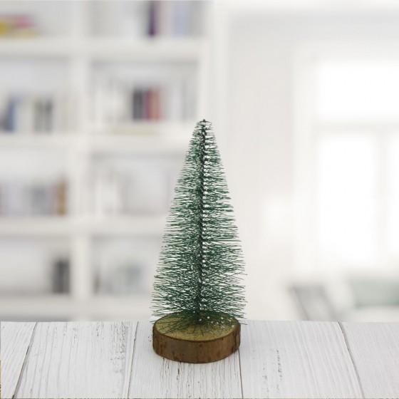 15x6cm Dekoratif Çam Ağacı