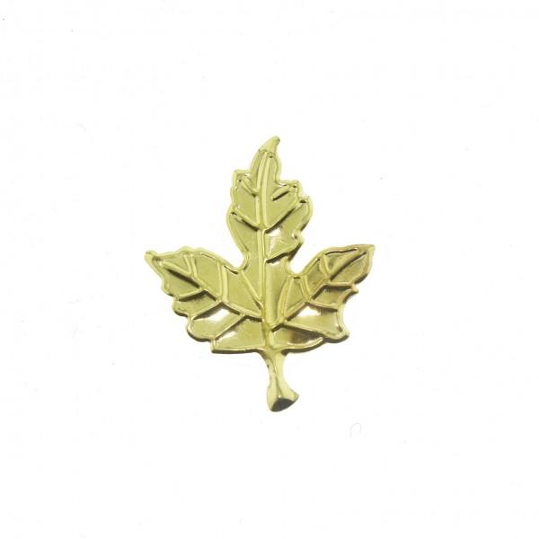 20 Adet 3,5x4,5cm Metal Çınar Yaprağı