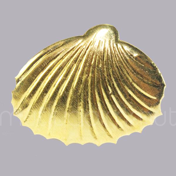 20 Adet Metal Deniz Kabuğu