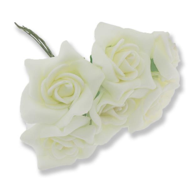 20 Demet (120 Adet) 3,5cm Lateks Gül Çiçek