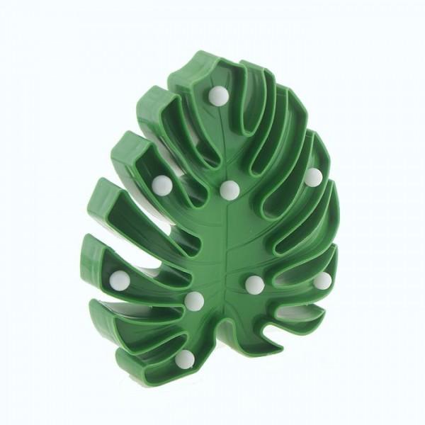 20cm Led Işıklı Plastik Yaprak Gece Lambası