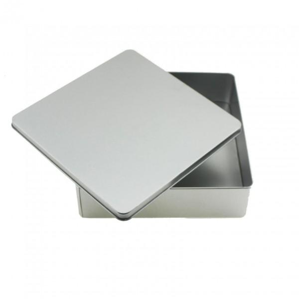 20x20cm Kare Metal Kutu