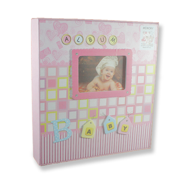23x25cm Baby Sticker Fotoğraf Albümü 120li