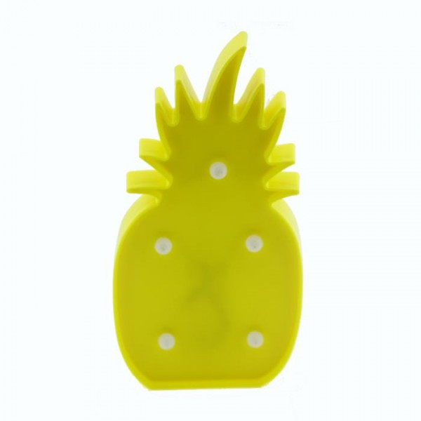25cm Led Işıklı Plastik Ananas Gece Lambası