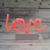 25cm Neon Led Love Yazısı Aydınlatma