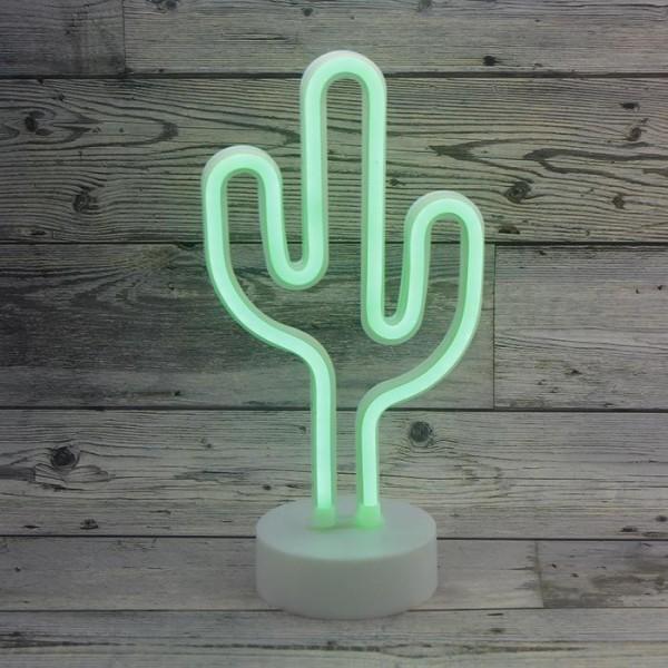 26cm Neon Led Kaktüs Aydınlatma