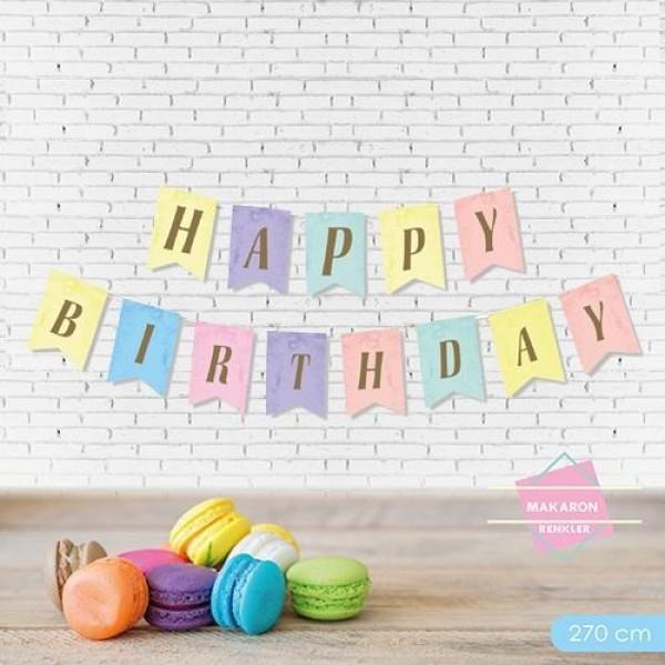 270cm Harf Afiş Happy Birthday