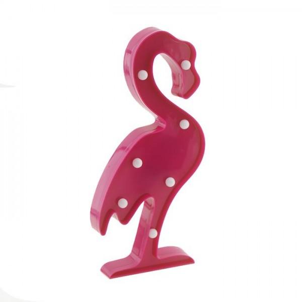 30cm Led Işıklı Plastik Flamingo Gece Lambası