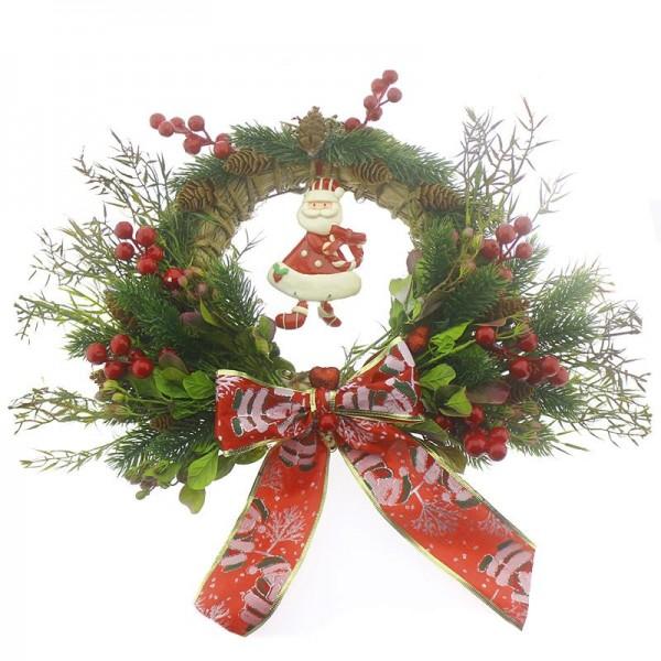 30cm Noel Babalı Yılbaşı Kapı Süsü
