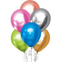 """5 Adet 30cm Krom Balon 12"""""""