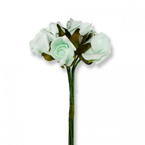 5 Demet (30 Adet) Lateks 4,5cm Gül Çiçek