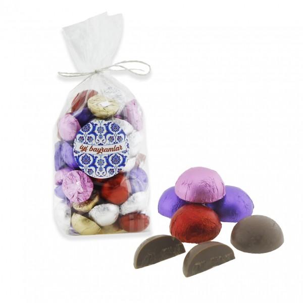 500gr Yarım Kilo Bayramlık Çikolata Sargılı