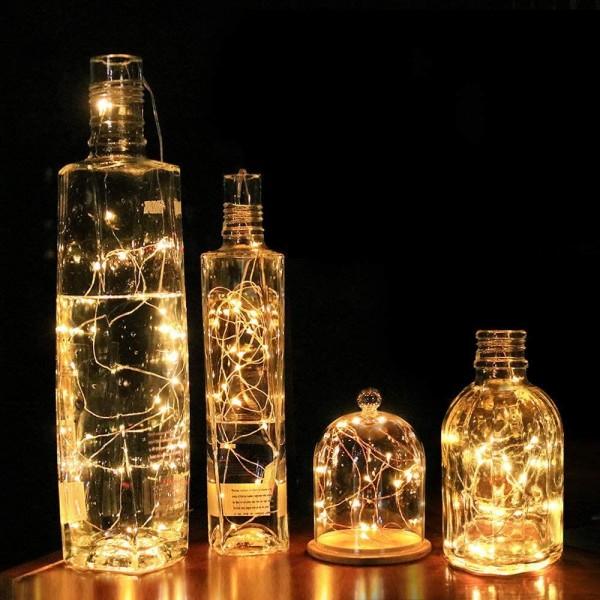 5metre 50li Peri Led Işık Şerit Pilli Aydınlatma Dekor
