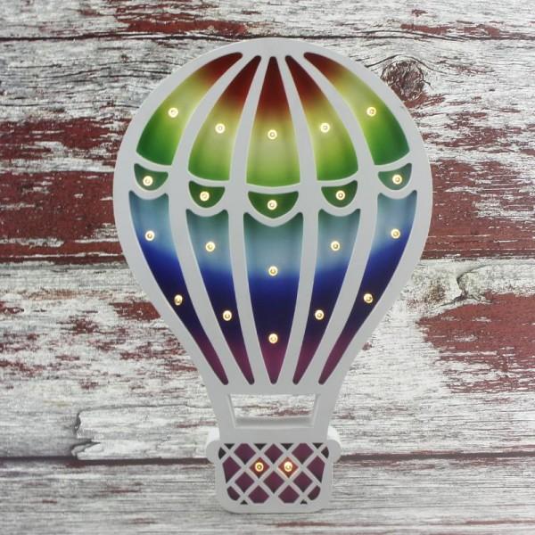 Ahşap Led Işıklı Pilli Balon Mod.2