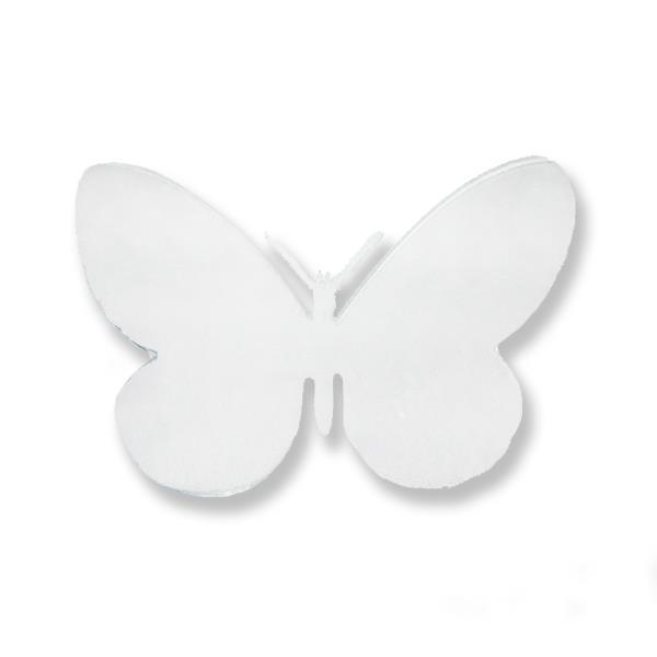 Ayna Sticker Kelebek Büyük 12 Adet