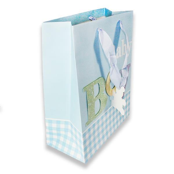 1 Adet 26x32cm Karton Çanta Baby Boy