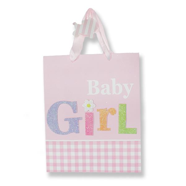1 Adet 26x32cm Karton Çanta Baby Girl