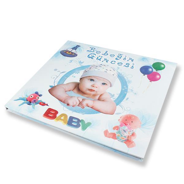Bere Takmış Bebeğin Güncesi Anı Defteri