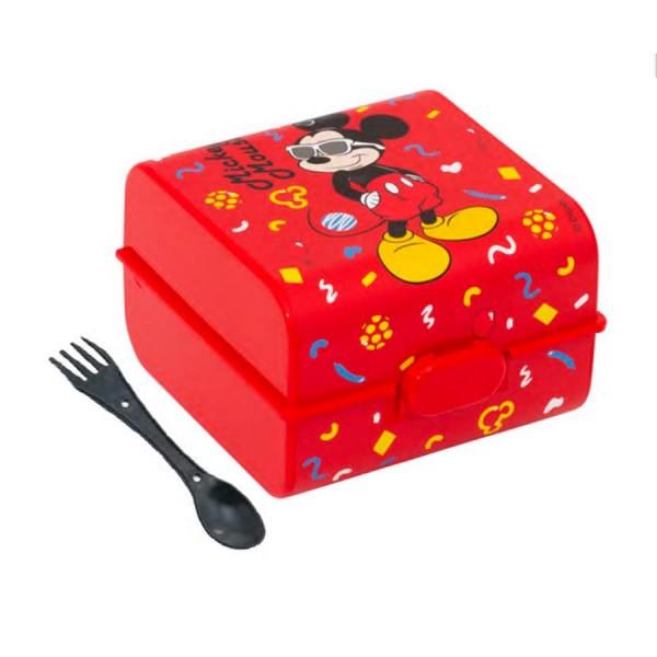 Beslenme Kutusu Gözlüklü Mickey Mouse Lisanslı