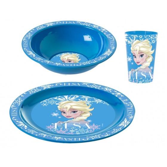 Elsa Kahvaltı Seti Kase-Tabak-Bardak