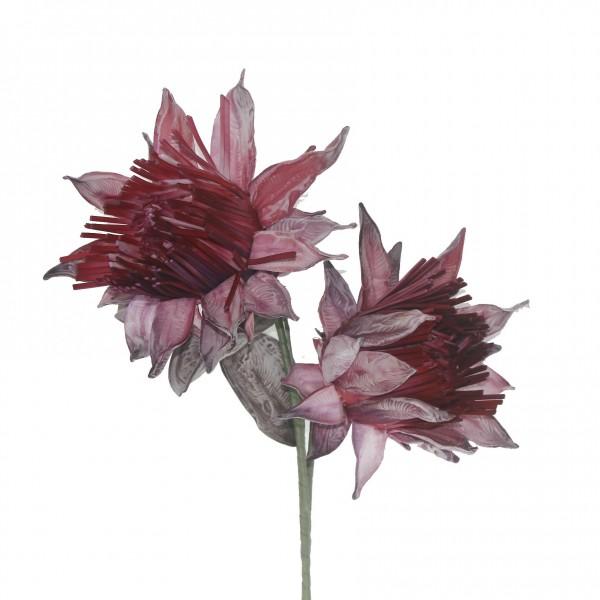 Enginar Çiçeği Büyük Yapay Çiçek Dekorasyon