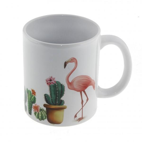 Flamingo Seti Hediye Kutusu Kupa ve Kumbaralı