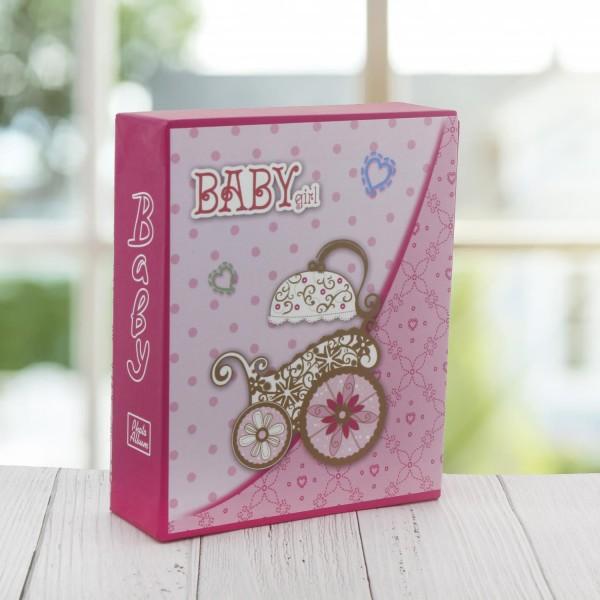 Bebek Fotoğraf Albümü 13x17cm Puset Bebek Arabası Baskılı