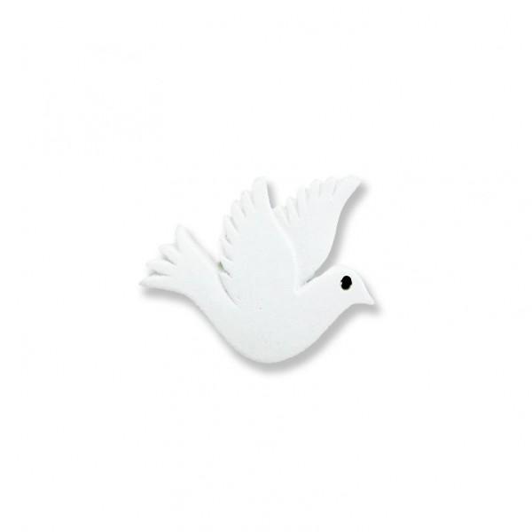 12 Adet 3x2,5cm Minik Güvercin Kuş Biblo