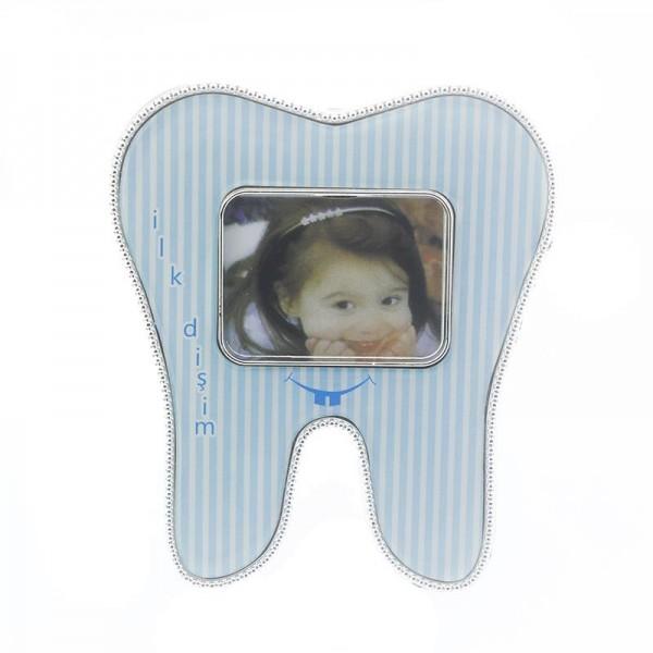 12 Adet İlk Dişim Diş Çerçeve Mıknatıs+Ayaklı
