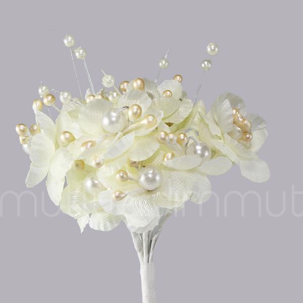 İncili Küçük Çiçek Demedi 12 Demet (144 Adet)