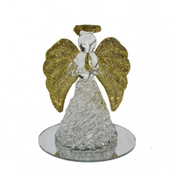 Kristal Cam Melek Biblo 6x7cm