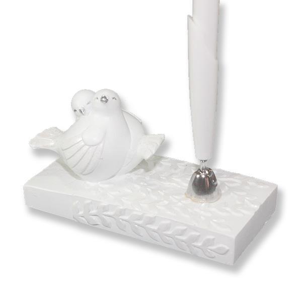 Kuşlu Anı Defteri Kalemlik ve Tükenmez Kalem