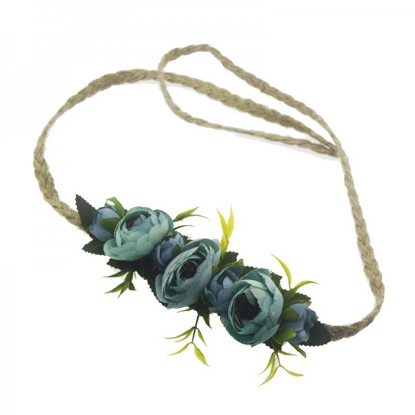 Mavi Çiçekli Helen Taç