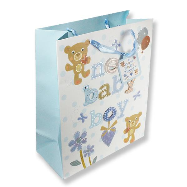 1 Adet 32x26cm Karton Çanta New Baby