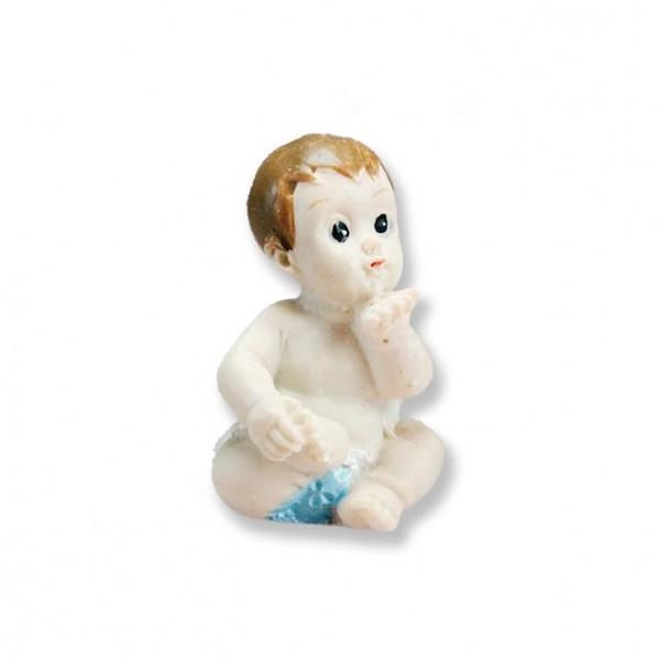 12 Adet Oturan Öpücük Gönderen Bebek Biblo