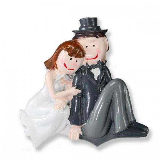 12 Adet Romantik Gelin Damat Biblo