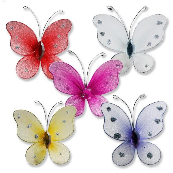 Taşlı Kelebek 12 Adet