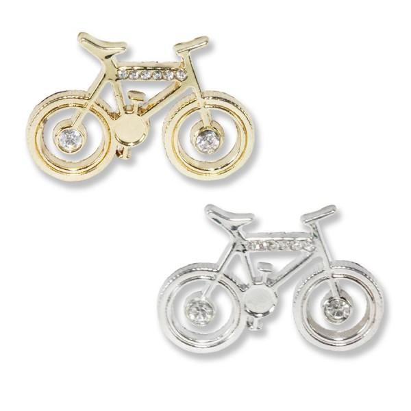 10 Adet Taşlı Metal Bisiklet