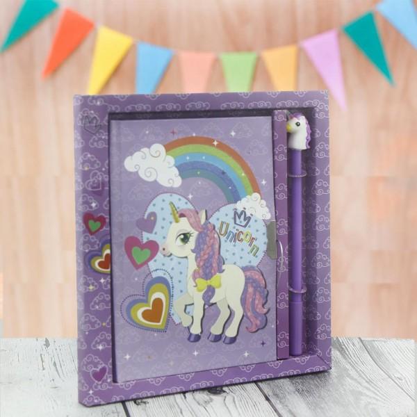 Unicorn Hediye Kutusu Seti Kumbara ve Bonibonlu