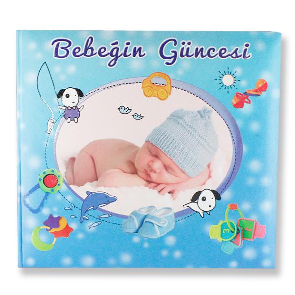 Uyuyan Bebekli Bebeğin Güncesi Anı Defteri